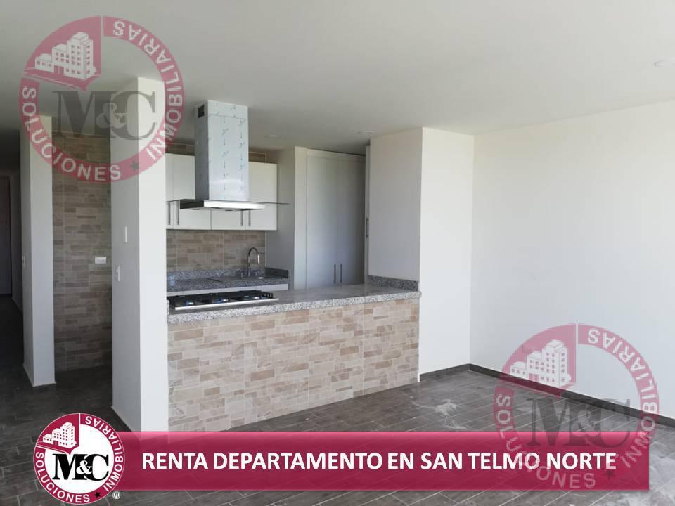 Foto Departamento en Renta en  Trojes de Alonso,  Aguascalientes          DEPARTAMENTO AMUEBLADO EN RENTA JUNTO A SAN TELMO AL NORTE DE AGUASCALIENTES