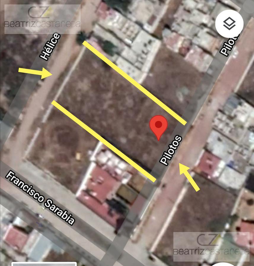 Foto Terreno en Venta en  Pachuca ,  Hidalgo  COL. LA ROBIROSA, CALLE PILOTOS, PACHUCA, HGO.