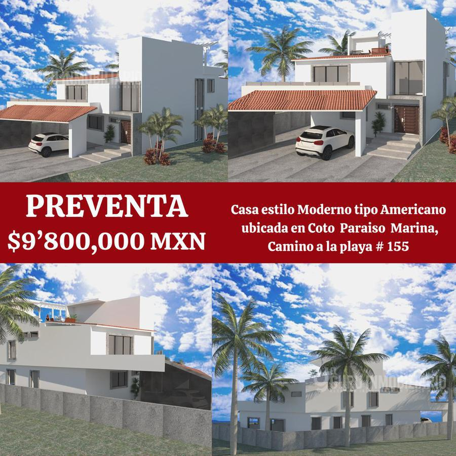 Foto Casa en Venta en  Fraccionamiento Paraíso,  Mazatlán  Casa en Venta en Paraiso Marina Camino a la Playa 155