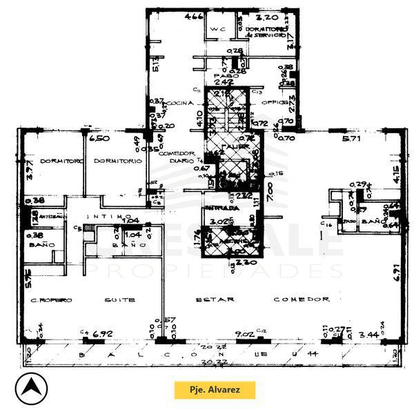 Venta departamento 3+ dormitorios Rosario, zona Centro. Cod 4527. Crestale Propiedades
