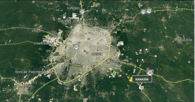 Foto Terreno en Venta en  Kanasín ,  Yucatán  ¡Oportunidad de inversión! Terreno en venta en Kanasin $85 x m2