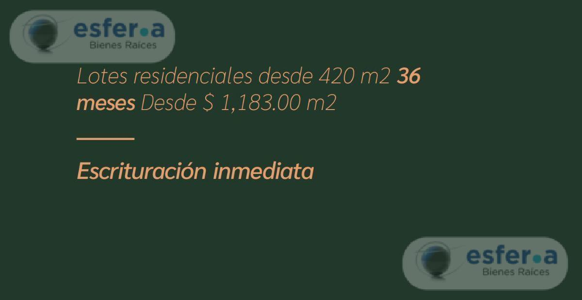 Foto Terreno en Venta en  Conkal ,  Yucatán  Venta de Terrenos en  MERIDA Privada Tagora CONKAL con amenidades.