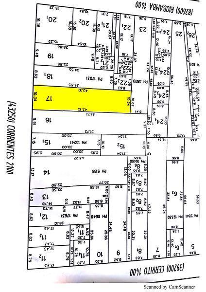 Corrientes al 2100, Macrocentro, Santa Fe. Venta de Terrenos - Banchio Propiedades. Inmobiliaria en Rosario