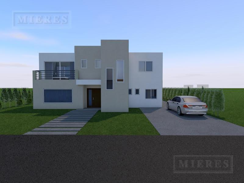 Preciosa casa a estrenar, estilo racionalista, ubicada en el barrio cerrado San Gabriel!
