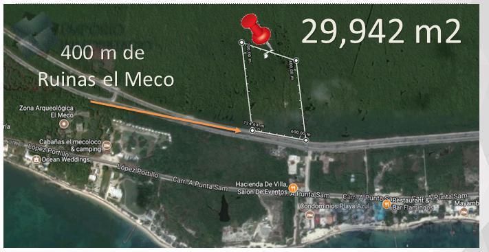 Foto Terreno en Venta en  Cancún ,  Quintana Roo  Lote P/Inversionista Visionario 2da Zona Hotelera $119,768,000 A1 ERM1