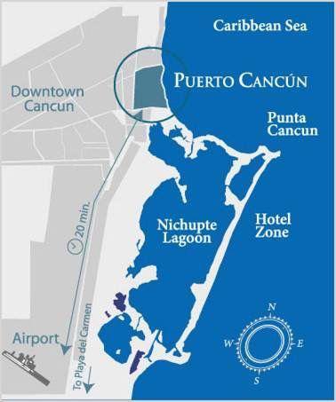 Foto Oficina en Venta en  Puerto Cancún,  Cancún   Oficina  en venta en Cancun,135 m2,  Corporativo NIDO, Puerto Cancún
