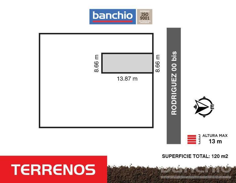 Rodríguez y Güemes, Rosario, Santa Fe. Venta de Terrenos - Banchio Propiedades. Inmobiliaria en Rosario