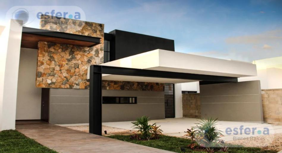 Foto Casa en Venta en  Pueblo Chablekal,  Mérida  Casa en venta en Privada Chaac Tún, Zona Norte, acabados de lujo