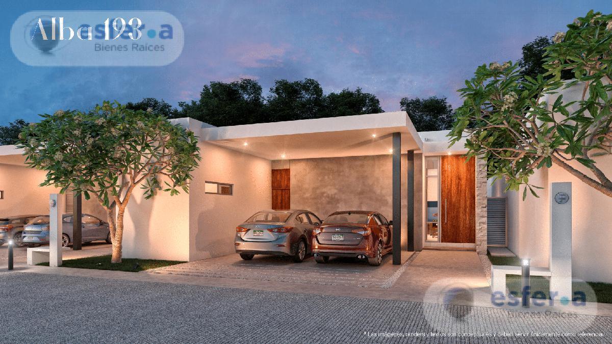 Foto Casa en Venta en  Conkal ,  Yucatán                  Privada Alba Residencial 193