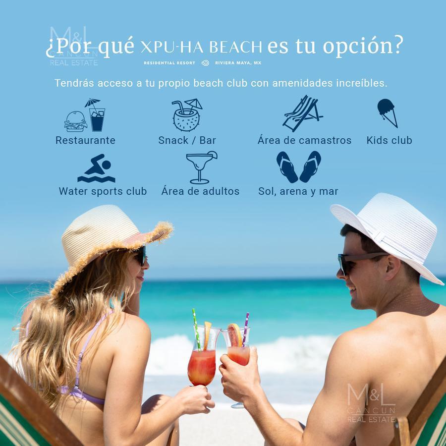 Foto Terreno en Venta en  Xpu Ha,  Solidaridad  Terreno en Venta XPU-HA BEACH ARRECIFE  con Club de Playa en Riviera Maya