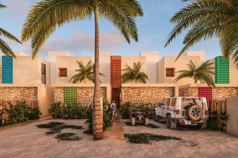 Foto Casa en Venta en  Pueblo Chicxulub Puerto,  Progreso    Villa en venta  Diez Punto Cinco Playa Chicxulub Pueblo,  Mérida Yucatán