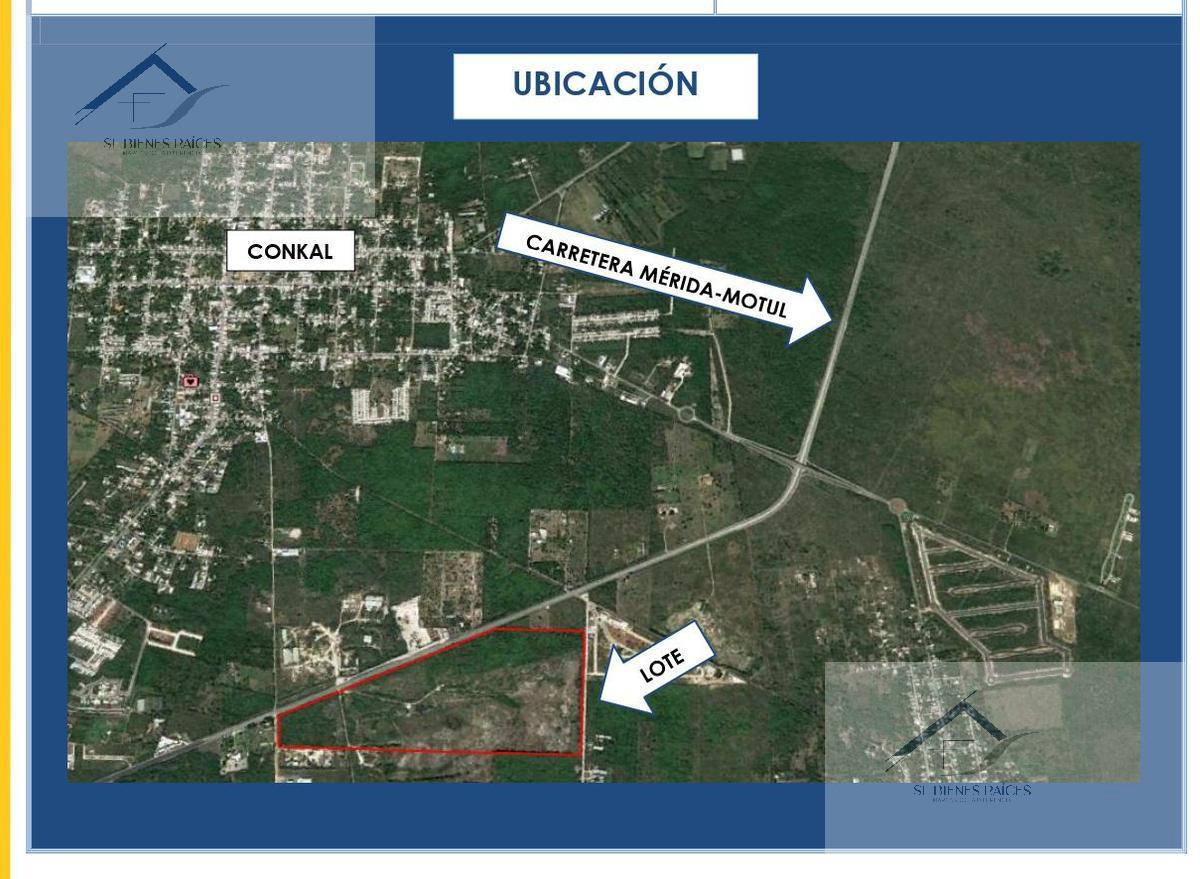 Foto Terreno en Venta    en  Conkal ,  Yucatán  Terreno en Venta Conkal  -  42.9 ha