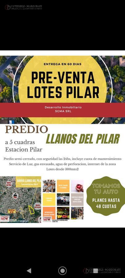 Foto Terreno en Venta en  Pilar,  Pilar  LLANOS PILAR
