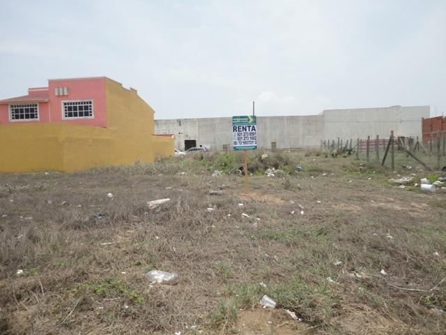 Foto Terreno en Renta en  Fraccionamiento Paraíso Coatzacoalcos,  Coatzacoalcos  TERRENO EN RENTA MALECÓN COSTERO