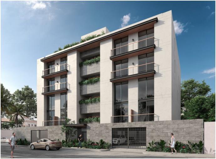 Foto Departamento en Venta en  Cancún Centro,  Cancún  Balay Residencial, Pre-venta departamento Tipo C Nivel 1 (YR)