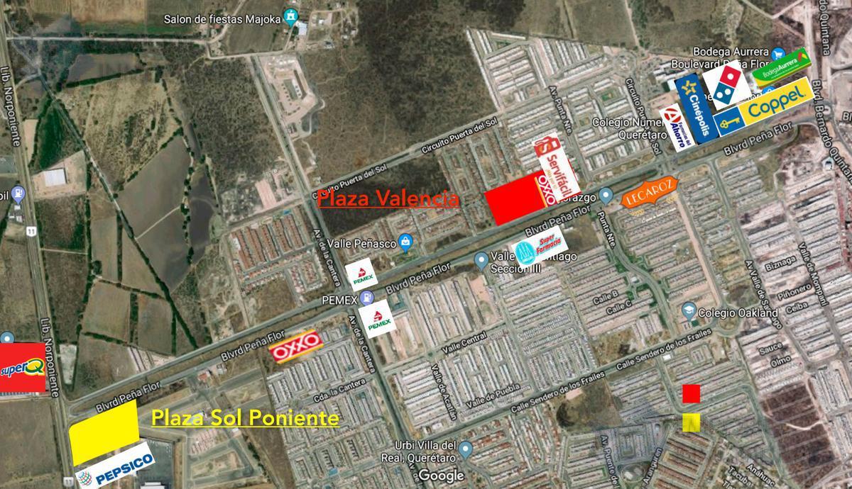 Foto Local en Renta en  Fraccionamiento Ciudad del Sol,  Querétaro  Local Renta Plaza Sol Poniente $16,800 Priher EQG1