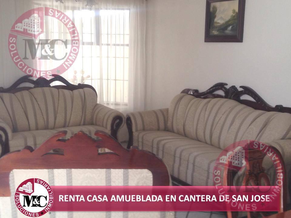 Foto Casa en Renta en  Fraccionamiento Canteras de San José,  Aguascalientes  M C RENTA CASA AMUEBLADA EN CANTERAS DE SAN JOSÉ