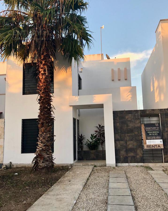 Foto Casa en Renta en  Playa del Carmen ,  Quintana Roo          Renta, Casa amueblada 2 recámaras en Cataluña Playa del Carmen    P2993