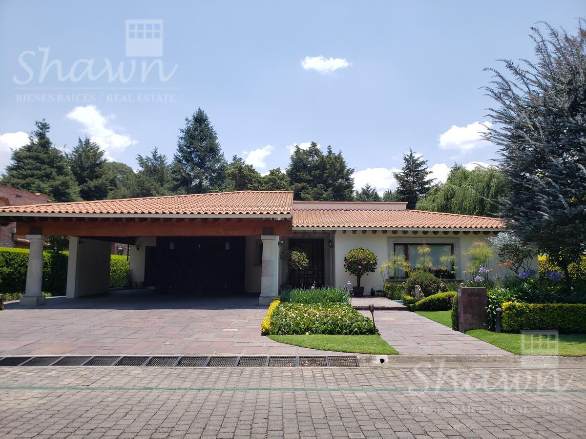 Foto Casa en Venta | Renta en  Club de Golf los Encinos,  Lerma  FRACCIONAMIENTO Y CLUB DE  GOLF LOS  ENCINOS
