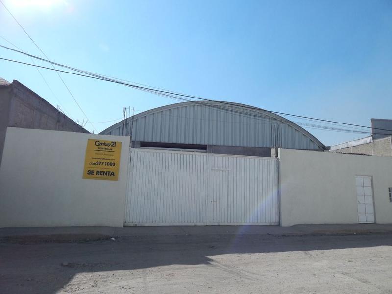 Foto Bodega Industrial en Renta en  Santa María Totoltepec,  Toluca  BODEGA INDUSTRIAL AMPLIA EN SANTA MARÍA TOTOLTEPEC