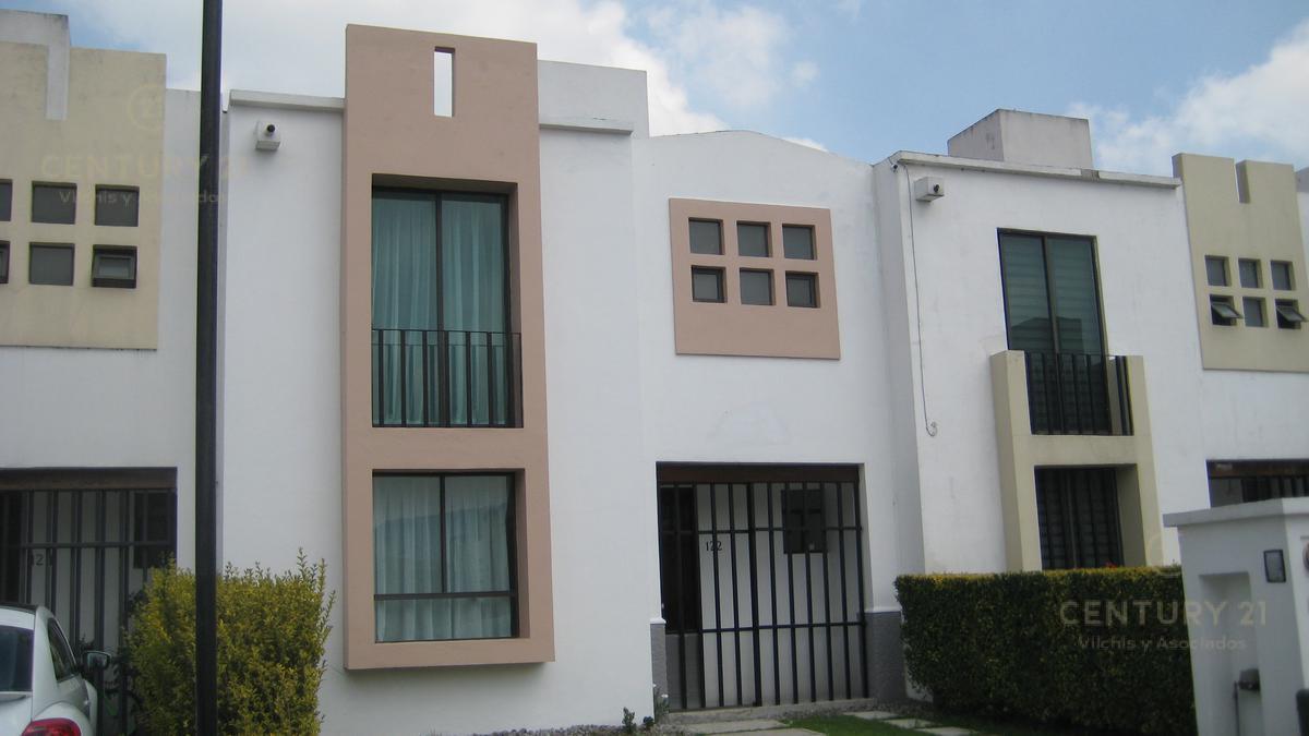 Foto Casa en condominio en Renta en  San Miguel Zinacantepec,  Zinacantepec  Bonita casa en Conjunto Urbano Bosques
