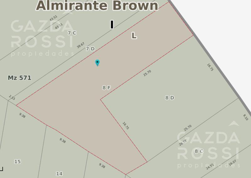 Foto Terreno en Venta en  Adrogue,  Almirante Brown  La Rosa al 1000