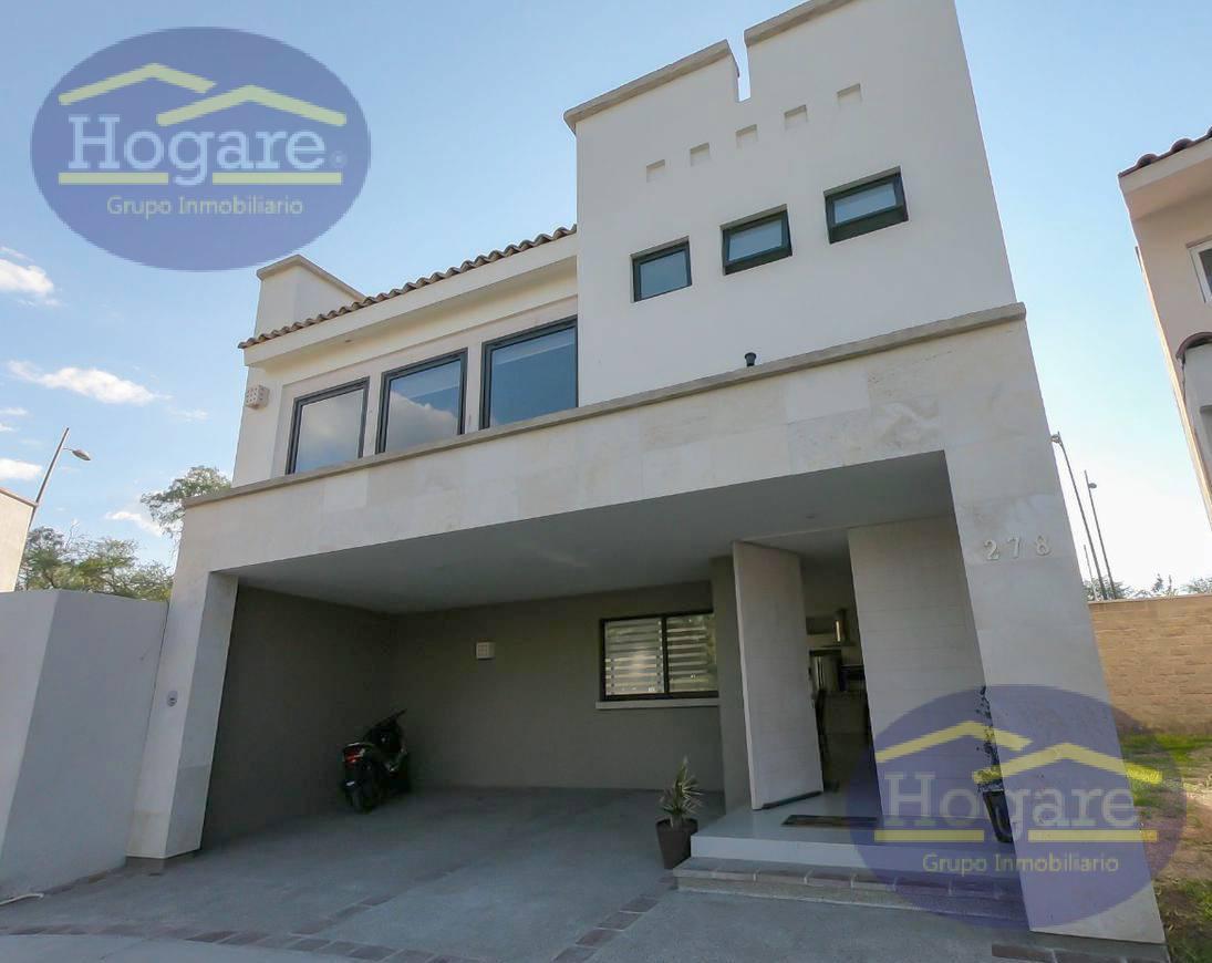 Casa en Renta Amueblada y Nueva en El Mayorazgo, Zona Sur de la ciudad de León Gto