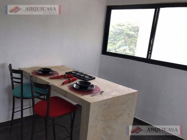 Foto Departamento en Renta en  Pueblo Cholul,  Mérida  CHOLUL RENTA DEPARTAMENTO AMUEBLADO.
