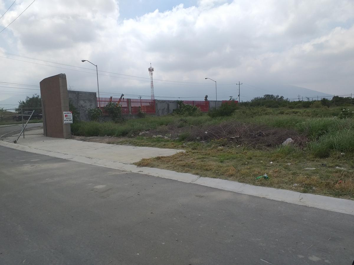 Foto Terreno en Renta en  Parque Industrial,  Gral. Escobedo  Libramiento Noreste al 1000