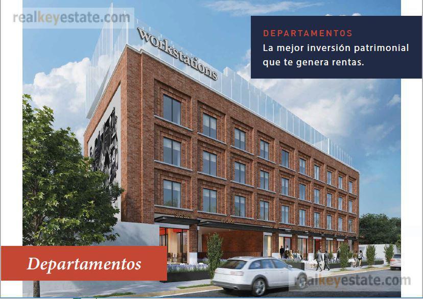 """Foto Departamento en Venta en  México,  Monterrey  Departamento en Preventa Tipo """"D"""" en La Fábrica, Distrito Tec"""