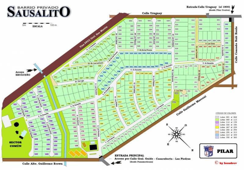 Foto Terreno en Venta en  Sausalito,  Countries/B.Cerrado (Pilar)  Excelentes lotes a la venta en Sausalito – Bayugar Negocios Inmobiliarios