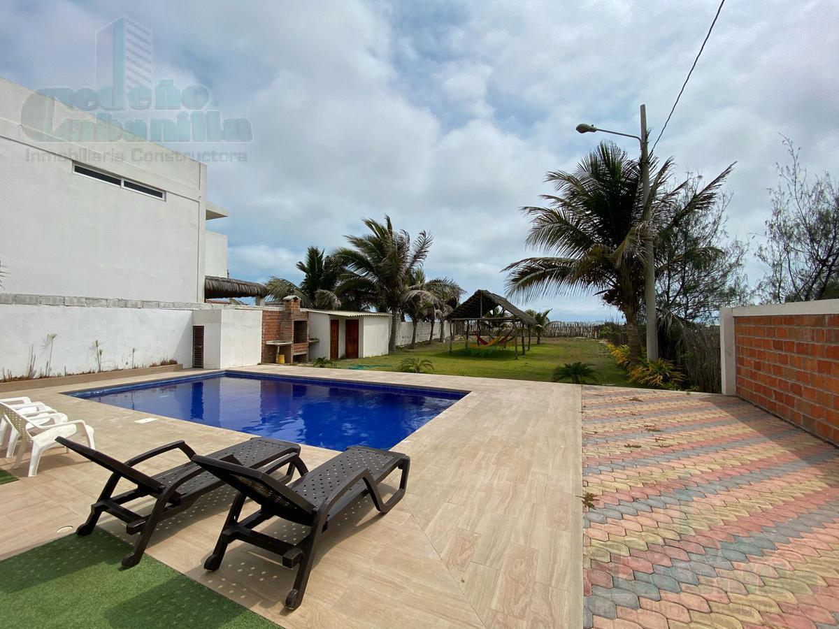 Foto Casa en Venta en  Norte de Playas,  Playas  VENTA  CONDOMIO TRES DPTOS  TERRENO 1843m2 LISTO PARA PROYECTO FAMILIAR EN PLAYAS