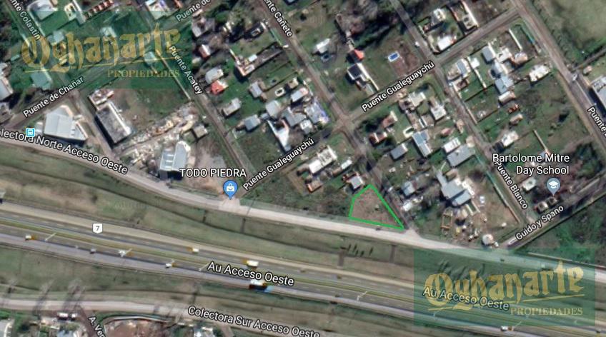 Foto Terreno en Venta en  General Rodriguez ,  G.B.A. Zona Oeste  Acceso Oeste Colectora Norte esquina Puente Canete