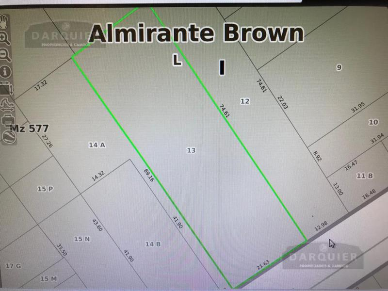 Foto Terreno en Venta en  Adrogue,  Almirante Brown  JORGE 1551