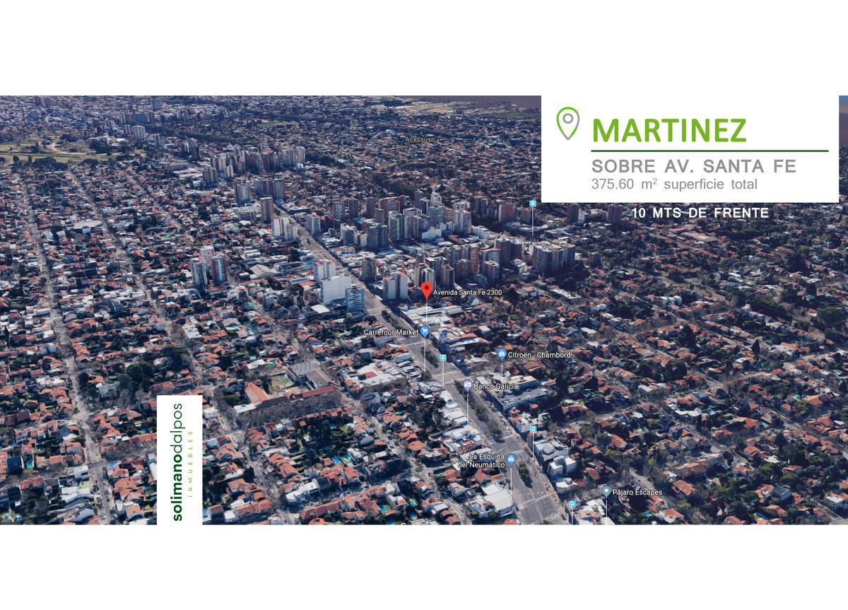 Foto Local en Venta en  Mart.-Vias/Santa Fe,  Martinez  Av Santa Fe al 2300