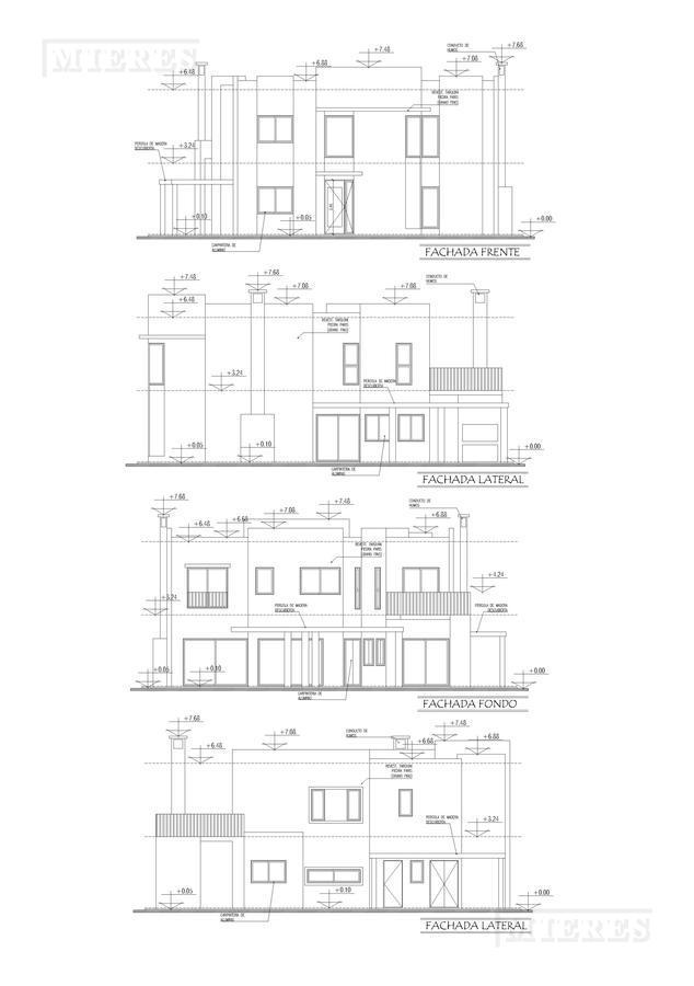casa en venta en El Canton Barrio Norte