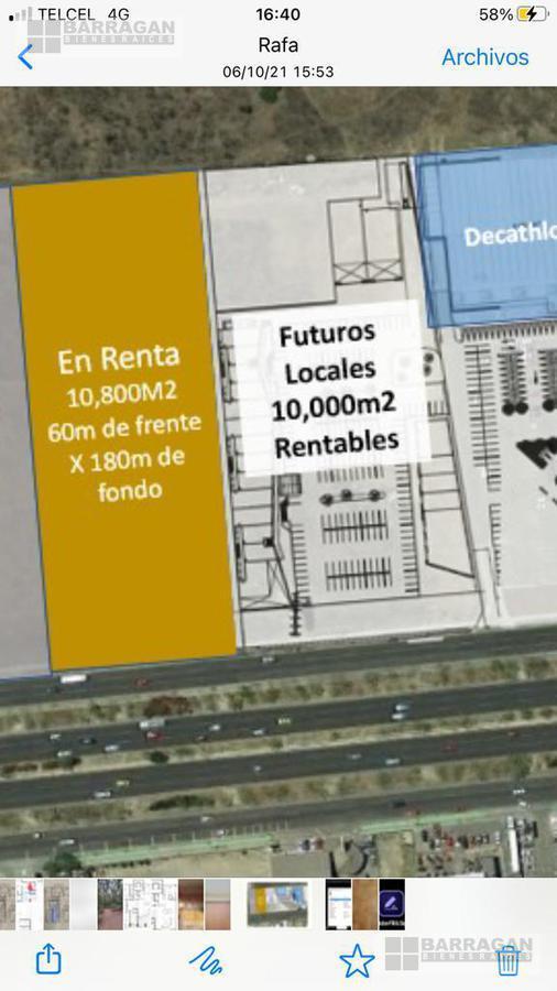 Foto Terreno en Renta en  Juriquilla,  Querétaro  Lote de Terreno en Renta Paseo de la República, Querétaro