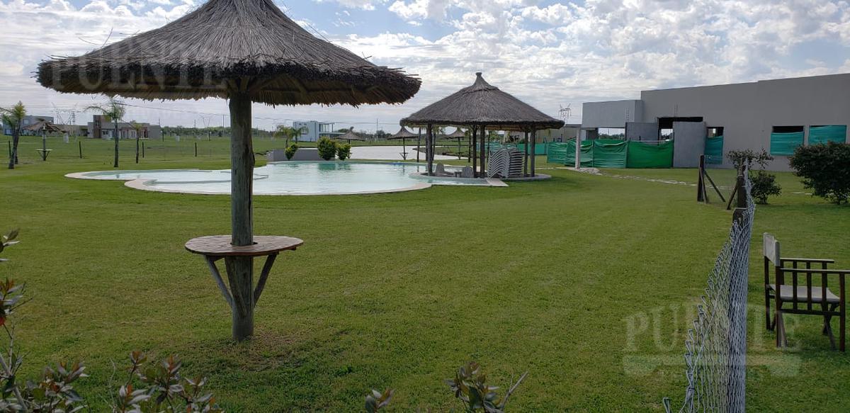 Foto Terreno en Venta en  La Alameda,  Canning (E. Echeverria)  La Alameda lote con fondo a la laguna