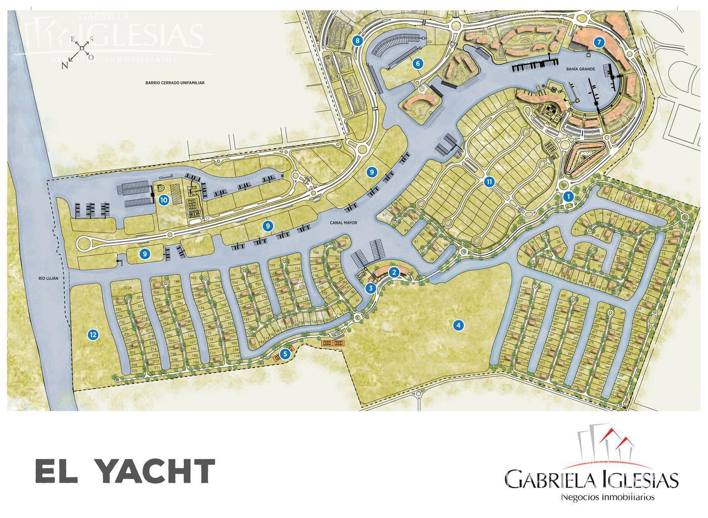 Terreno en Venta en El Yacht Nordelta a Venta - u$s 460.000