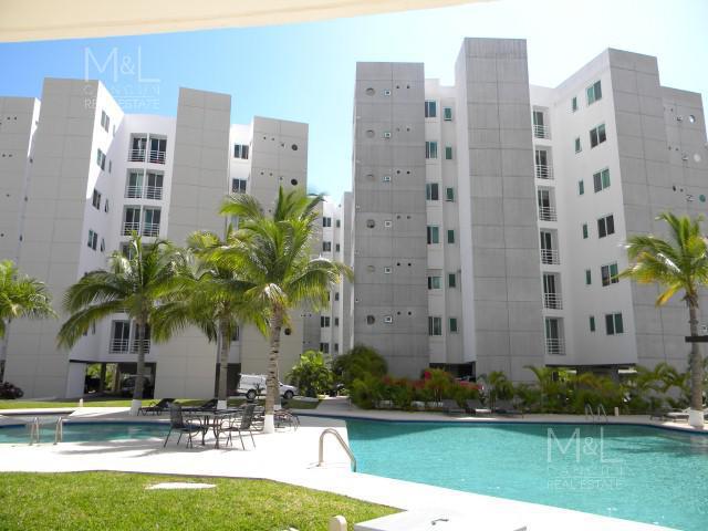 Foto Departamento en Renta en  El Table,  Cancún  Departamento en Renta en Cancún, Huitzilin El Table, 2 Recámaras Amueblado , Supermanzana  4A