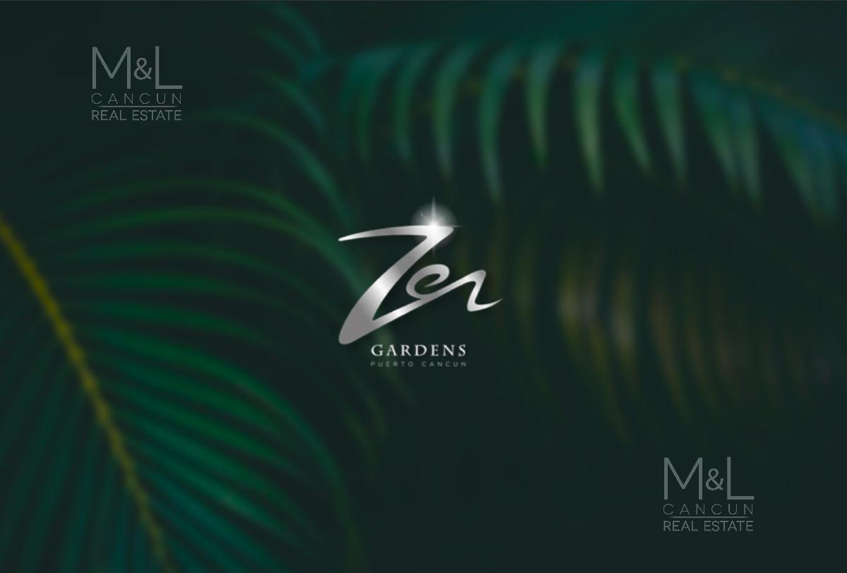 Foto Terreno en Venta en  Puerto Cancún,  Cancún  Terreno en Venta Condominal ZEN Gardens 1000 m2 Uso Mixto. Puerto Cancùn, Cancùn Quintana Roo