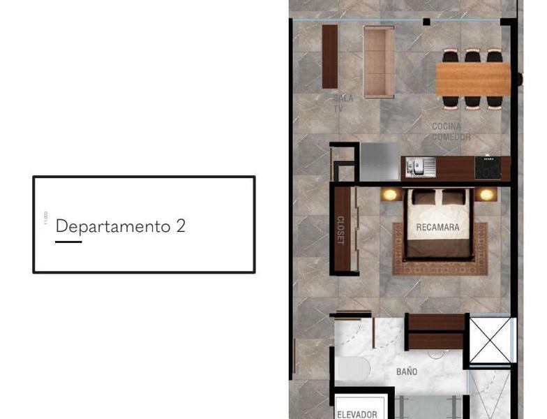 Playa del Carmen Apartment for Sale scene image 17