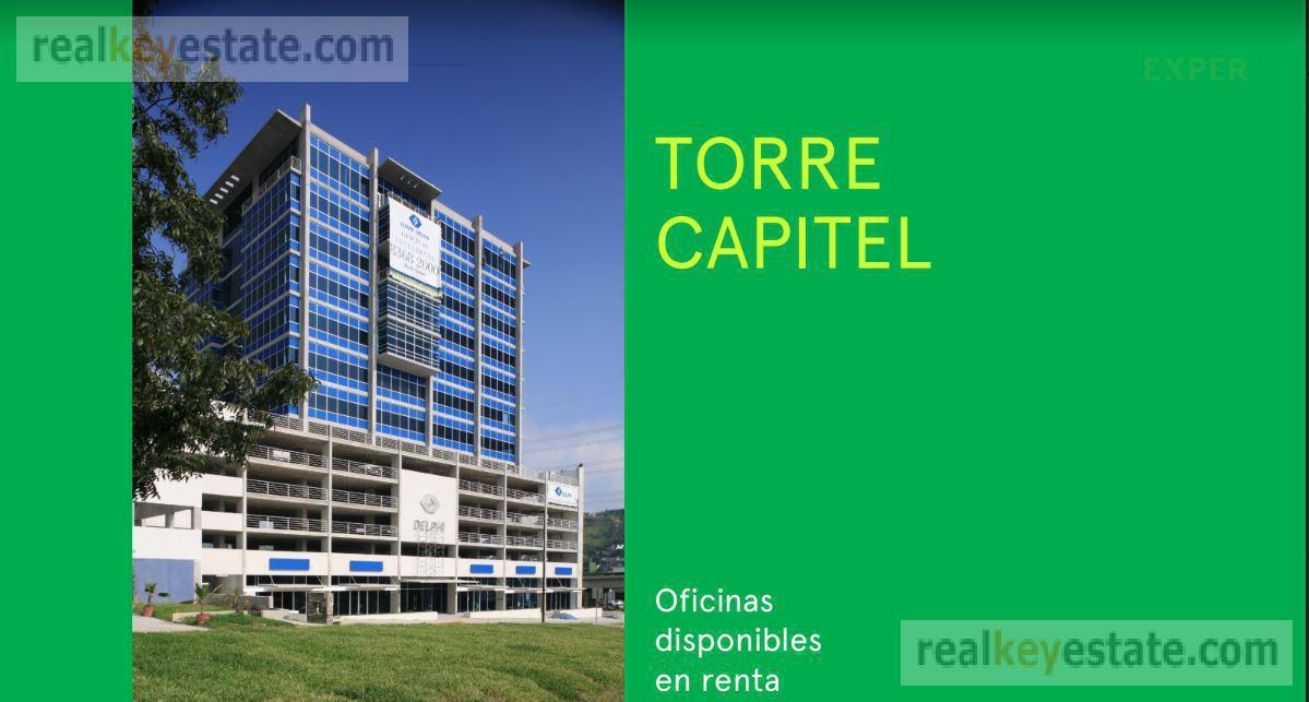 Foto Oficina en Renta en  Del Paseo Residencial,  Monterrey          Oficina en Renta en Torre Capitel, en Monterrey
