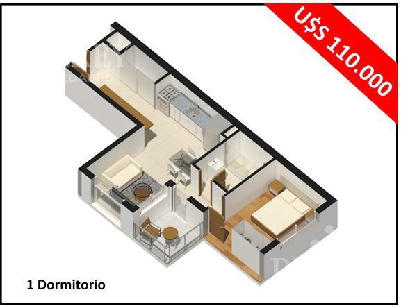 Foto Departamento en Venta en  Centro,  Montevideo  Quijano y Canelones próximo