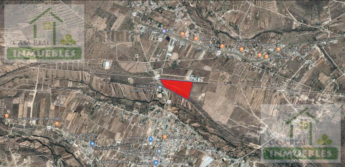 Foto Terreno en Venta en  Barrio Huizache,  San Agustín Tlaxiaca  Terreno en  San Agutin Tlaxiaca  El Huizache