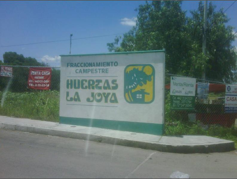 Foto Campo en Venta en  Fraccionamiento Campestre Italiana,  Querétaro  HUERTAS LA JOYA TERRENO COMERCIAL EN VENTA, ESTADO QUERETARO.