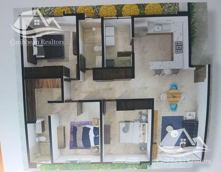 Foto Departamento en Renta en  Supermanzana 312,  Cancún  Departamento en Renta en Cancun / Astoria