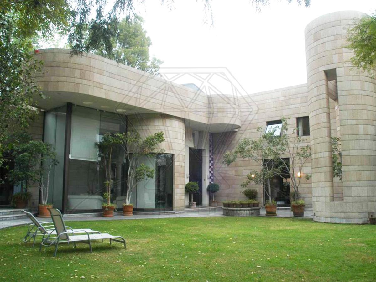Foto Casa en Renta en  Lomas de Chapultepec,  Miguel Hidalgo  Prado Sur casa en renta con   JARDÍN  y  TERRAZA  , Lomas de Chapultepec  (VW)