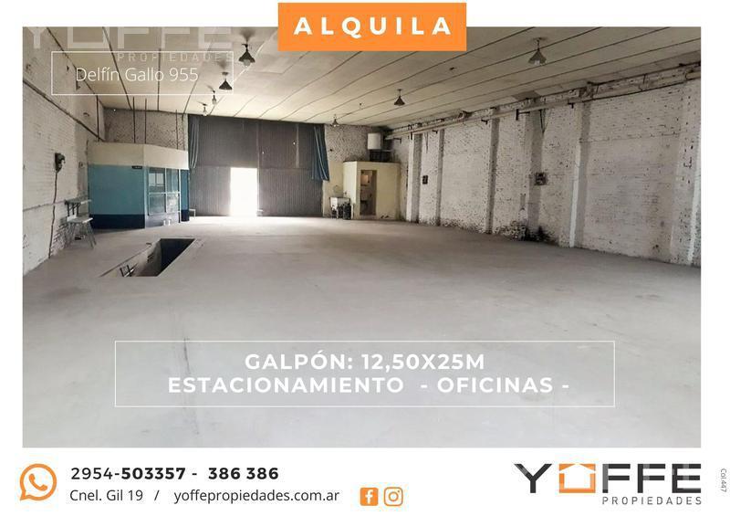 Foto Galpón en Alquiler en  Villa Santillán,  Santa Rosa  Villa Santillán