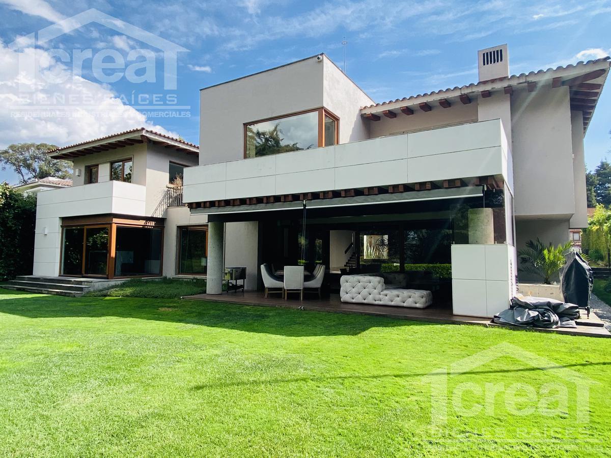 Foto Casa en Venta en  Club de Golf los Encinos,  Lerma  Moderna casa en venta, Club de Golf los Encinos,  4 recamaras